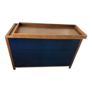 Mid-Century Modern Ducduc 3-Drawer Parker Dresser/Changing Table For Sale
