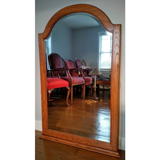 Pennsylvania House Solid Oak Dresser with Mirror - Image 6 of 11