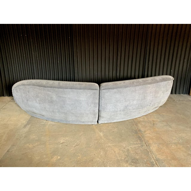 Milo Baughman for Thayer Coggin Two Piece Sectional For Sale In Philadelphia - Image 6 of 10