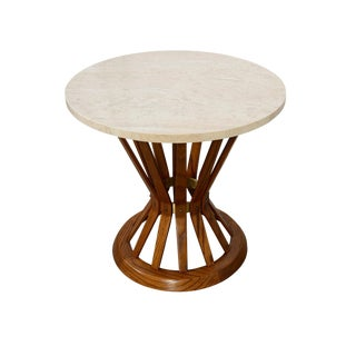 1960s Mid-Century Modern Edward Wormley Sheaf of Wheat Side Table For Sale