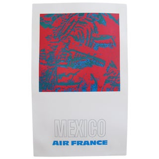 1971 Air France Poster, Mexico