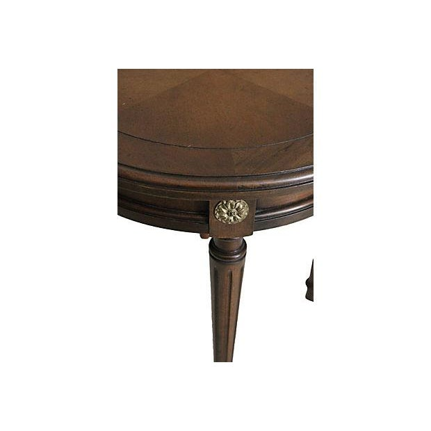 Louis XVI Taboret Tables - A Pair - Image 3 of 3