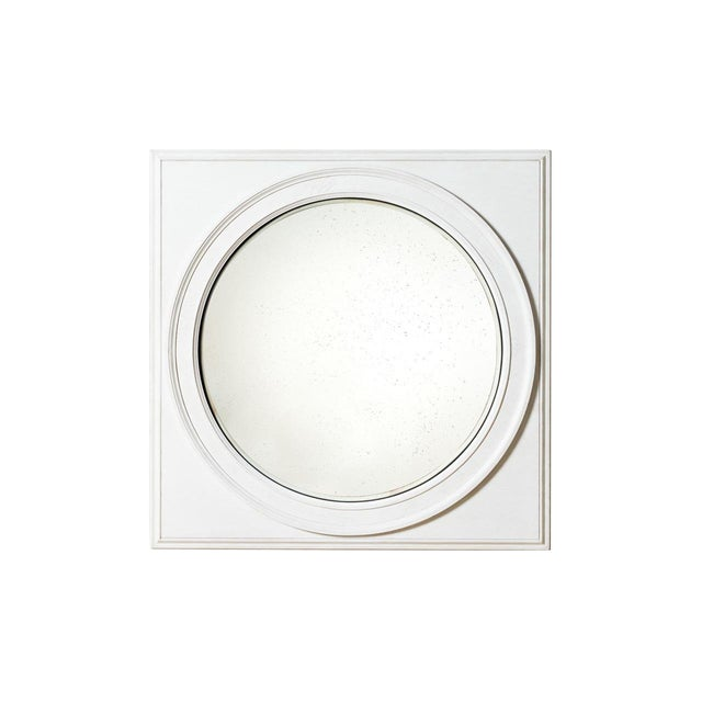 Shane Wooden Convex Mirror For Sale