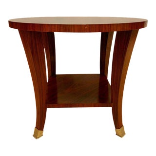 Rosewood Baker End or Lamp Table Designed by Barbard Barry For Sale