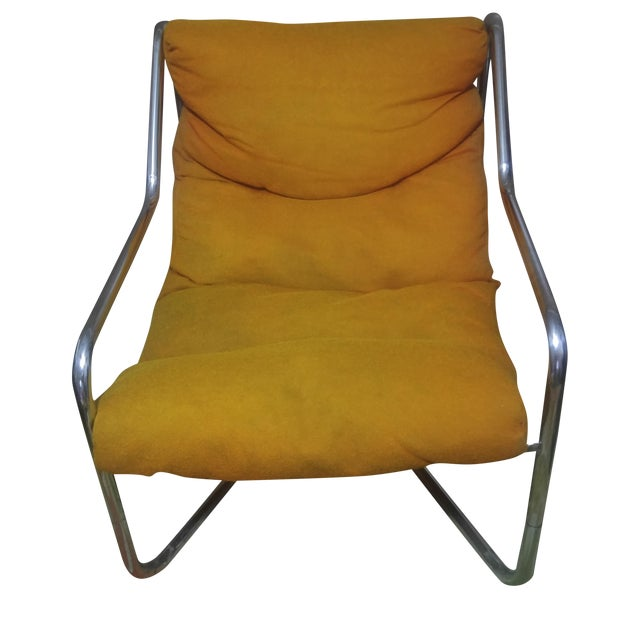 Authentic Mid-Century Milo Baughman Lounge Chair - Image 1 of 5
