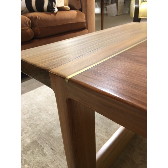 Cypress Cocktail Table For Sale In Charleston - Image 6 of 10