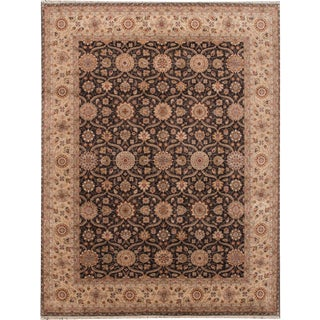 """21st Century Contemporary Indian Rug , 9'0"""" X 11'10"""" For Sale"""