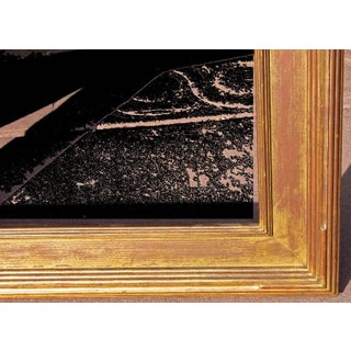1920s Antique Newcomb Macklin Carved Impressionist Giltwood Painting Frame Preview