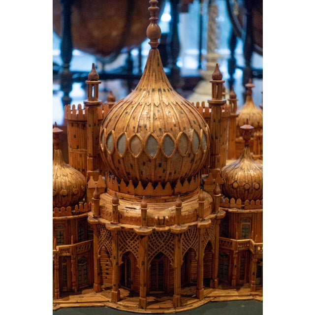 Mid-Century Modern Royal Brighton Pavilion Matchstick Architectural Model by Bernard Martell For Sale - Image 3 of 13