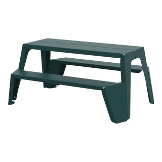 Medium Rambler Picnic Table in Moss For Sale