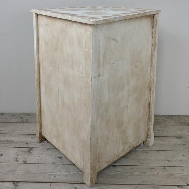 19th Century Swedish Painted Corner Cabinet For Sale - Image 12 of 13
