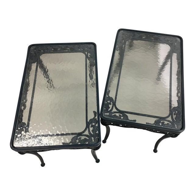 Brown Jordan Side Tables - A Pair - Image 1 of 4