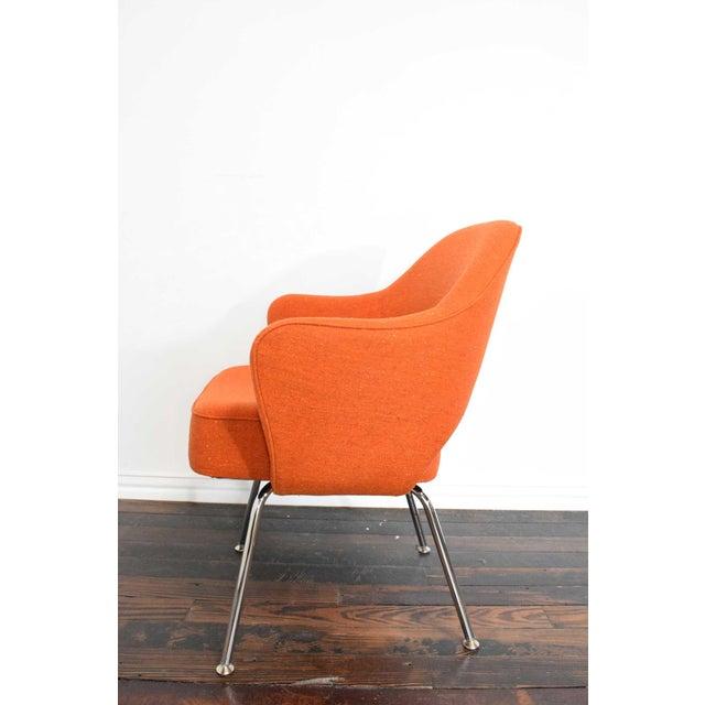 Mid-Century Modern Knoll Eero Saarinen Executive Armchair For Sale - Image 3 of 10