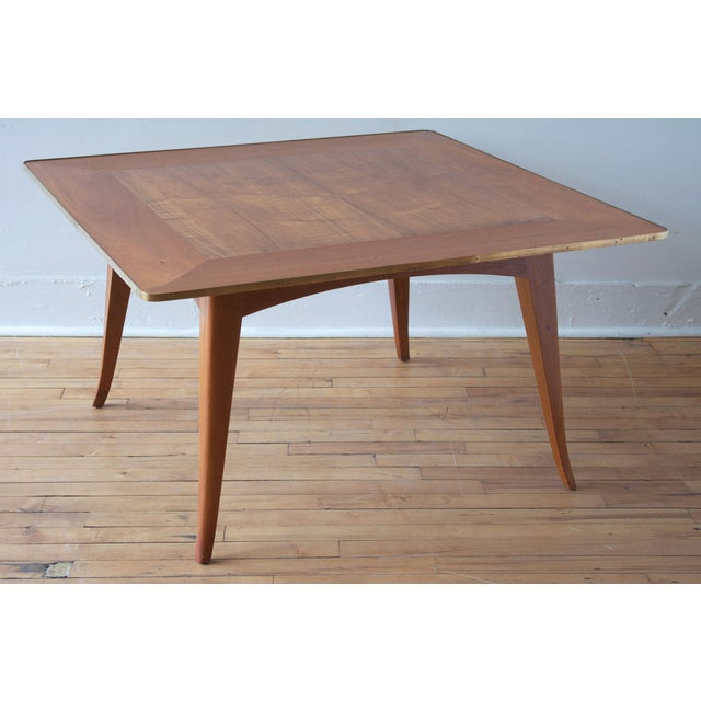 Mid-Century Modern Mahogany Cocktail Table by Edward Wormley for Dunbar For Sale - Image 3 of 7