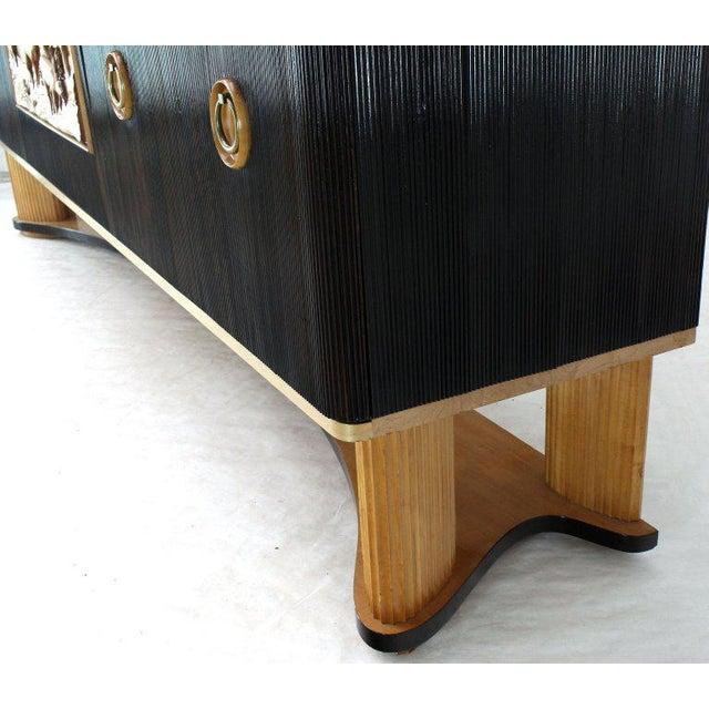 1940s Mid-Century Modern Osvaldo Borsani Extra Long Sideboard For Sale - Image 11 of 14