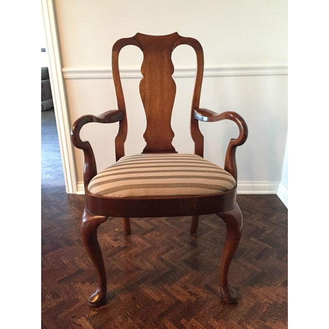 Antique Mahogany Dining Chairs - Set of 8 - Image 2 of 11