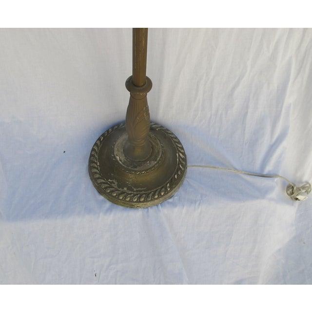 Antique 1920s Torch Floor Lamp - Image 7 of 7