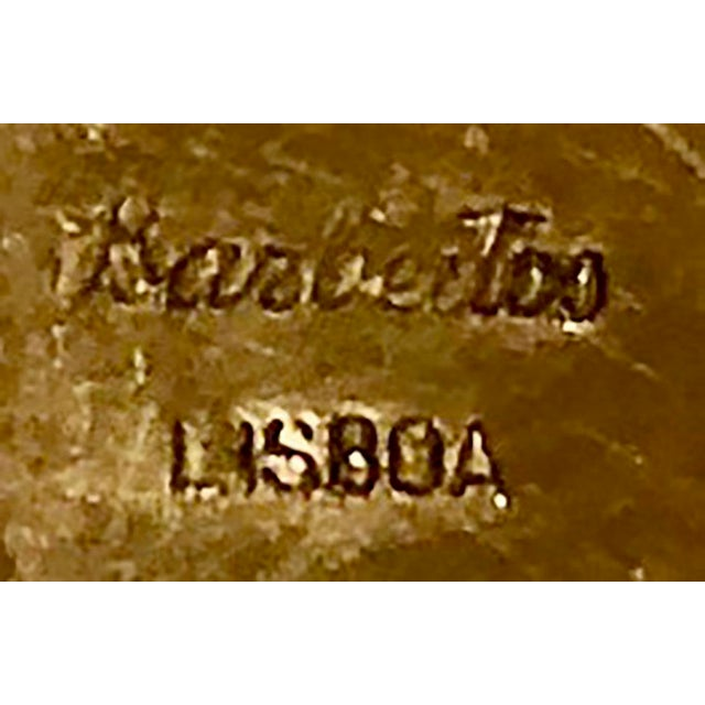 Brass Antique Brass Box Made in France For Sale - Image 8 of 10
