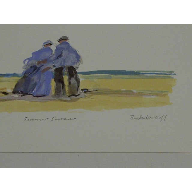 "Frederick McDuff ""Summer Souvenior"" Print - Image 5 of 6"