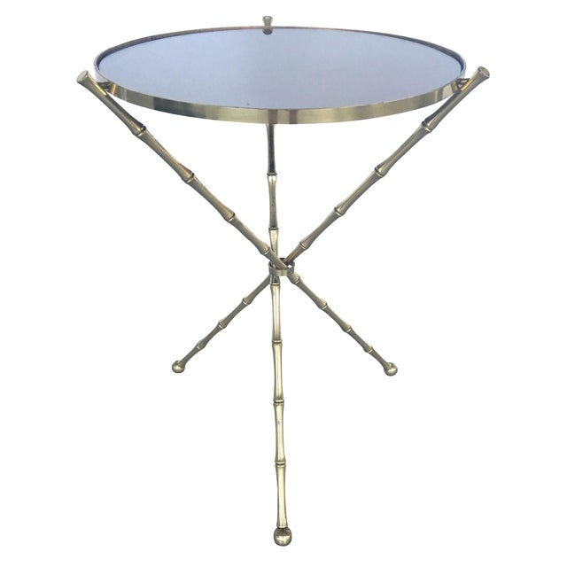 Mid-Century Jean Michel Frank Style Table - Image 1 of 6