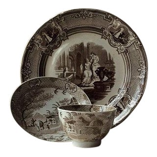 Antique English Tea Dishes - Set of 3