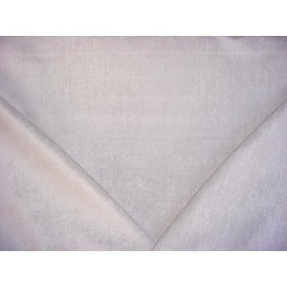 Brunschwig & Fils Celestin Pearl Plush Chenille Upholstery Fabric - 2 3/8 Yards For Sale