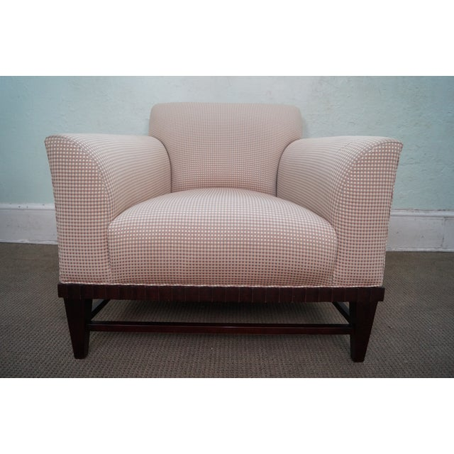 Baker Barbara Barry Collection Lounge Chair For Sale - Image 10 of 11