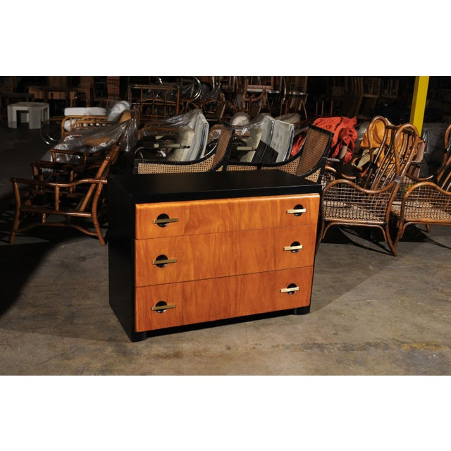 Magnificent Restored Streamline Moderne Commode by John Stuart, circa 1935 For Sale - Image 9 of 13