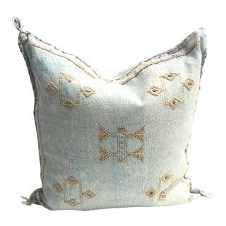 Turquoise Sabra Pillow
