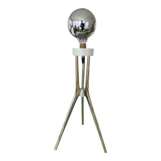 1960's Lightolier Space Age Atomic Tripod Lamp For Sale