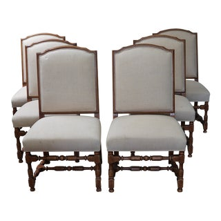 Paul Ferrite Over Scale Dining Chairs - Set of 6