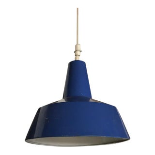 Blue Pendant Lamp For Sale