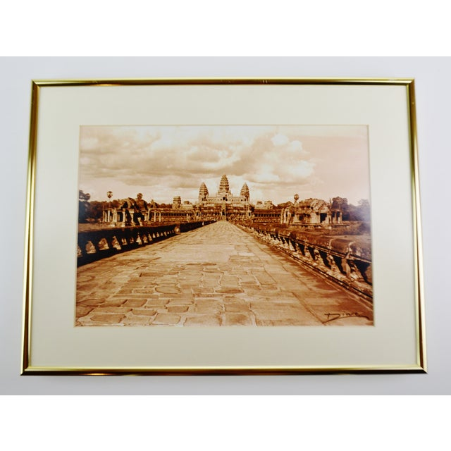 Thierry Diwo Framed Cambodian Photography Art - Set of 4 Thierry Diwo has been a photographer for the past 25 years....