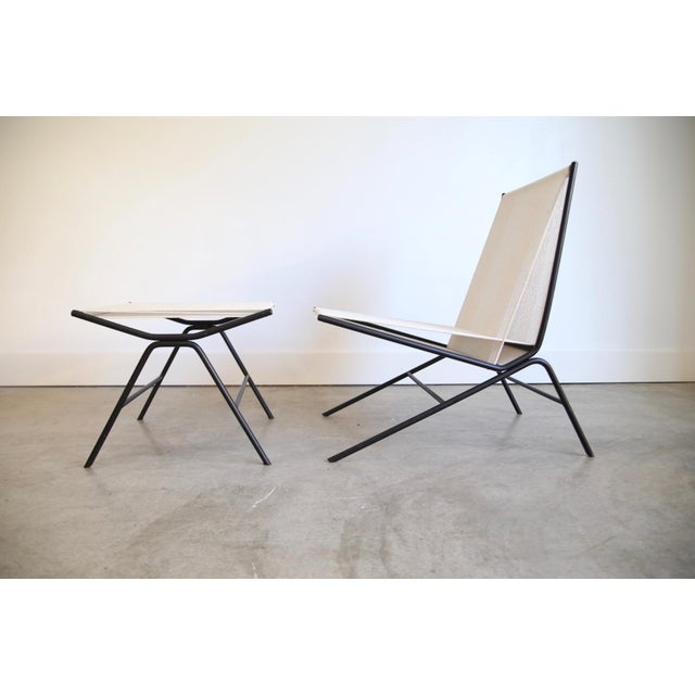 Allan Gould String Chair & Ottoman For Sale In Saint Louis - Image 6 of 11