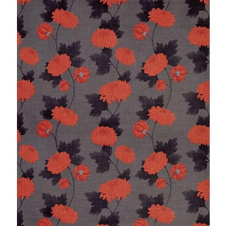 Wilde Boheme Chrysanthemum Osborne & Little Fabric - 1.75 Yards For Sale