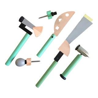 Postmodern Tool Set by Koyo Sangyo, 1980's For Sale
