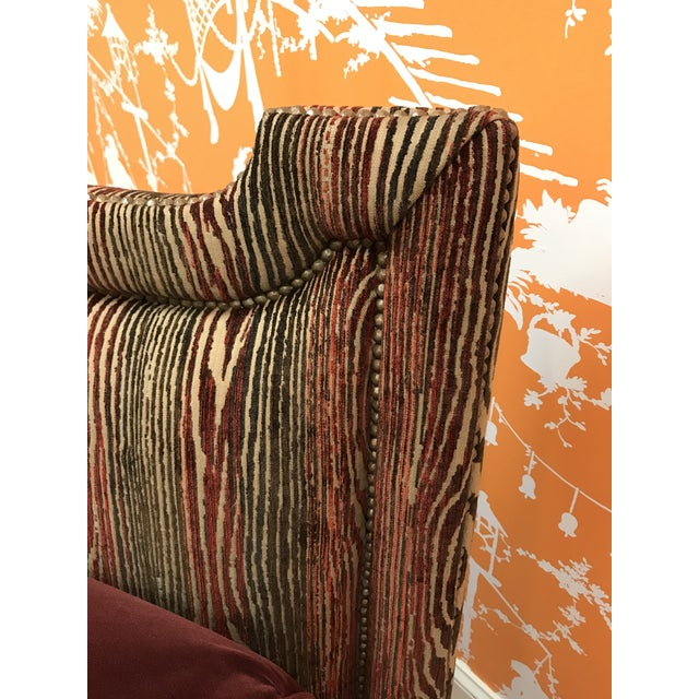 1990s Vintage Upholstered Chaise Daybed For Sale - Image 6 of 7