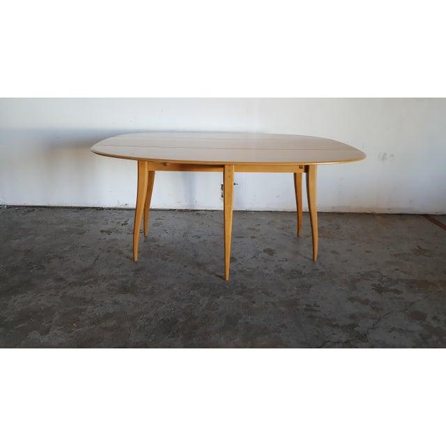 Mid-Century Heywood Wakefield Dining Table - Image 4 of 11