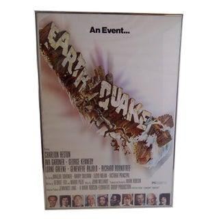 """Earthquake"", Original Movie Poster For Sale"