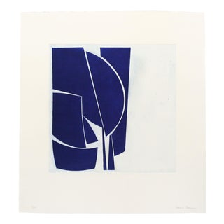 "Joanne Freeman ""Covers 1 Ultramarine"" Print For Sale"