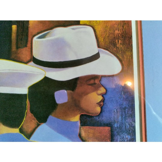 """Women Wearing Hats: """"A Preponderance Of Hats"""" by Cal Massey is a Limited Edition print, offset lithograph on paper. It has..."""