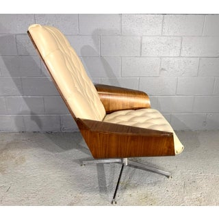 """Mid-Century George Mulhauser for Plycraft Modern Teak """"Mr. Chair"""" Lounge Chair Preview"""