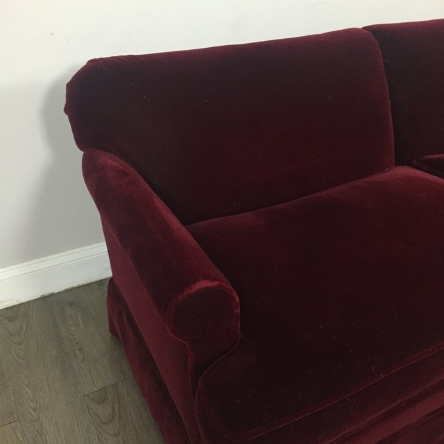 Vintage Mohair Sofa - Image 7 of 11
