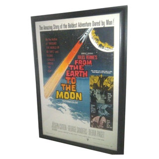 Original 1958 Sci-Fi Framed Movie Poster