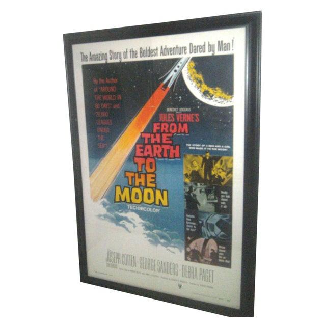 Original 1958 Sci-Fi Framed Movie Poster For Sale