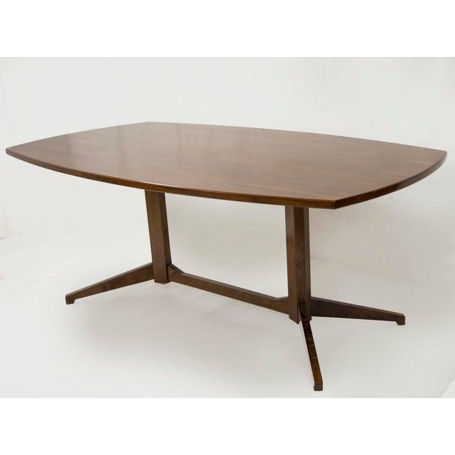 "Franco Albini & Franca Helg Table in rosewood Model TL22 edited by POGGI Italy, 1958 Litterature :""Repertorio, 1950-1980"",..."