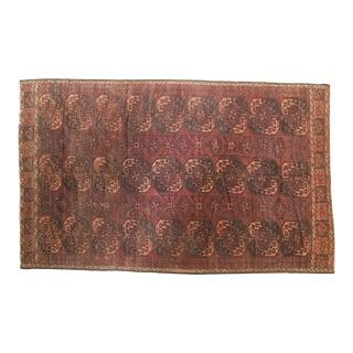 "Vintage Fragment Ersari Carpet - 6'2"" X 9'11"""