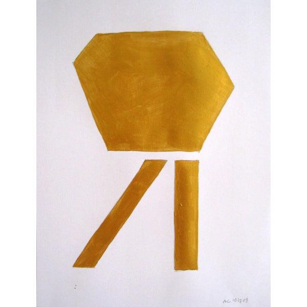 Monogram 5 Painting - Image 1 of 2