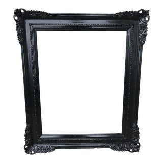 Wooden Glossy Black Frame