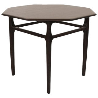 Mersman Satin Walnut SideTable For Sale